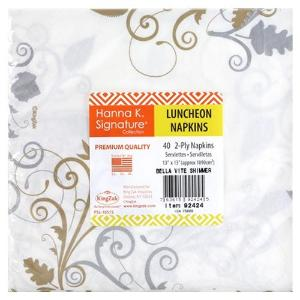 Bella Vite Shimmer - Luncheon Napkin - 40 count (Case Qty: 960)