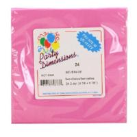 Beverage Napkin, Hot Pink, 24 Count (Qty: 864)