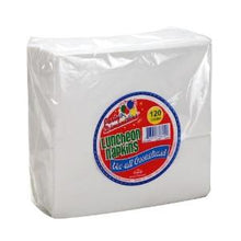 White Luncheon Napkin - 120 Count (Case Qty: 144)