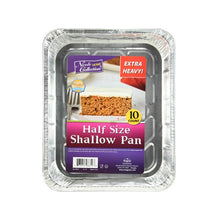 Banded - Half Size Shallow Aluminum Pan - 10 Count (Qty: 100)