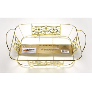 Decorative Pan Holder - Half Size - Gold (Case Qty: 24)