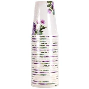 Peony - 12 oz. Paper Cup - 24 Count (Case Qty: 288)