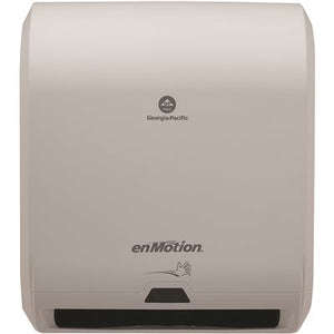 Georgia Pacific Enmotion 59407 Classic Automated Touchless Paper Towel Dispenser, Translucent White