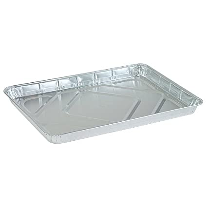 Disposable Aluminum Half Size Cookie Sheet | 17.75