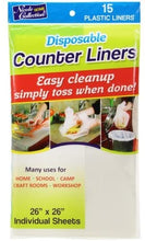 "Nicole Home Collection Disposable 26"" x 26"" 