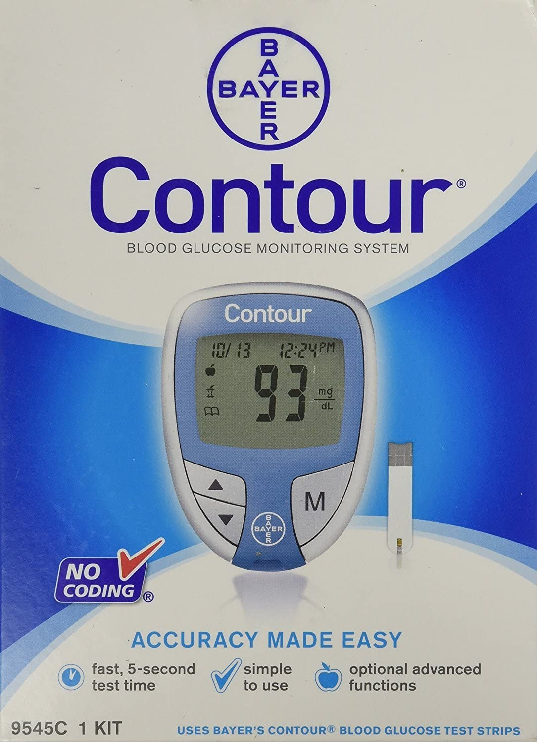 Bayer Contour Blood Glucose Meter system [ New UNIT in Box]