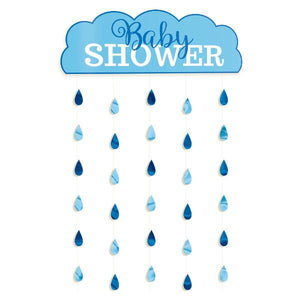 Baby Shower Door Curtain - Boy