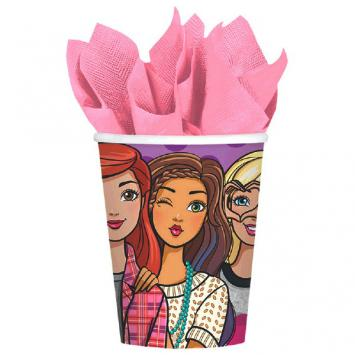 Barbie & Friends Cups, 9 oz (16 in a package)