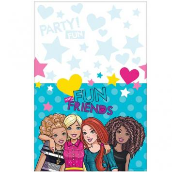 Barbie & Friends Plastic Table Cover