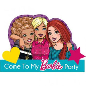 Barbie & Friends Postcard Invitations (16 in a package)