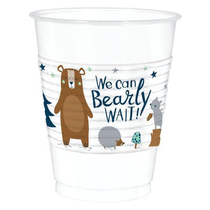 Bear-Ly Wait Plastic Cups (25 in a package)