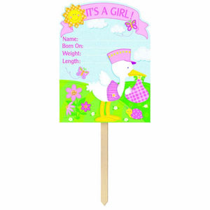 Bundle of Joy - It's A Girl! Giant Yard Sign
