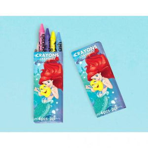 Disney Ariel Dream Big Packaged Crayons (12 in a package)