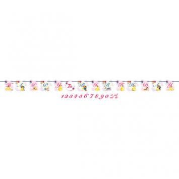 Disney Beauty And The Beast Ribbon Letter Banner