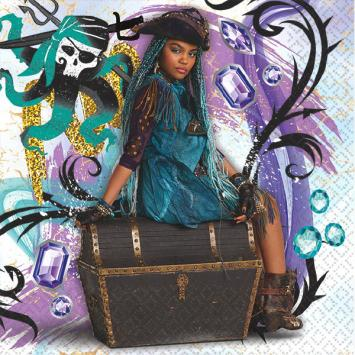 Disney Descendants 2 Beverage Napkins (32 in a package)