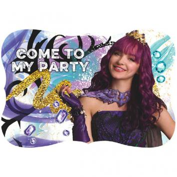 Disney Descendants 2 Postcard Invitations (16 in a package)