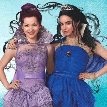 Disney Descendants Luncheon Napkins (32 in a package)