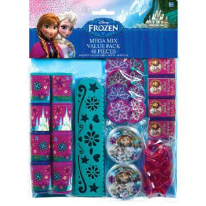 Disney Frozen Mega Mix Value Pack Favors (48 in a package)