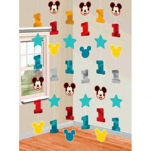 Disney Mickey's Fun To Be One String Decorations (12 in a package)