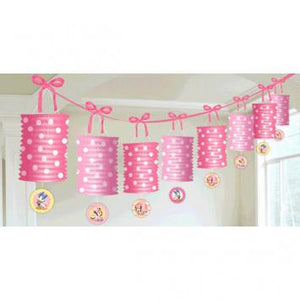 Disney Minnie 1st Birthday Paper Lantern Garland