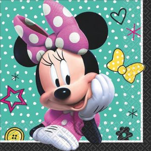 Disney Minnie Mouse Happy Helpers Beverage Napkin (32 in a package)