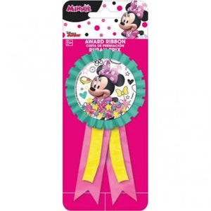 Disney Minnie Mouse Happy Helpers Confetti Pouch Award Ribbon