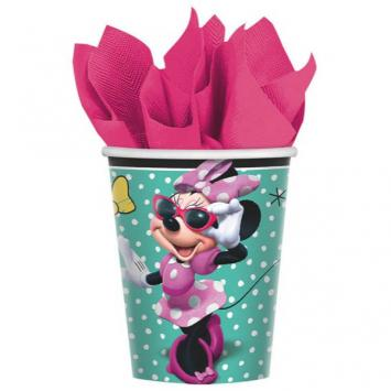 Disney Minnie Mouse Happy Helpers Cups, 9 oz (16 in a package)