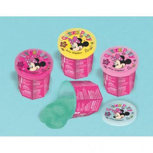 Disney Minnie Mouse Happy Helpers Glitter Putty (12 in a package)