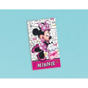 Disney Minnie Mouse Happy Helpers Notepad (12 in a package)