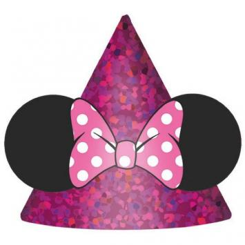 Disney Minnie Mouse Happy Helpers Party Hats (8 in a package)