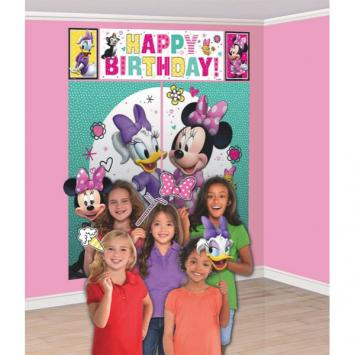 Disney Minnie Mouse Happy Helpers Scene Setters With Props (17 in a package)