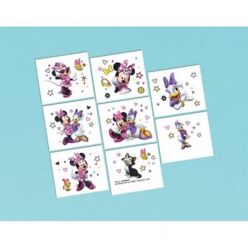 Disney Minnie Mouse Happy Helpers Tattoos (16 in a package)