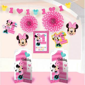 Disney Minnie's Fun To Be One Room Decorating Kit