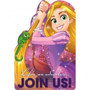 Disney Rapunzel Dream Big Postcard Invite (16 in a package)