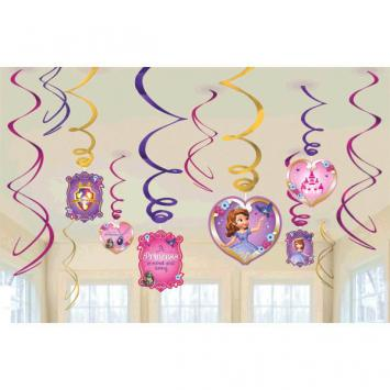 Disney Sofia The First Foil Swirl Value Pack (24 in a package)