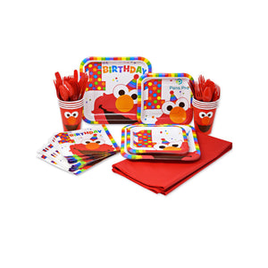 Elmo 1st Birthday Party Set
