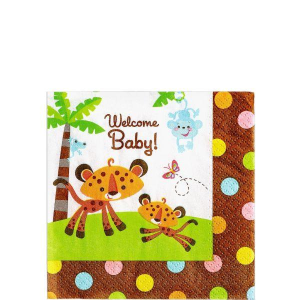 Fisher-Price Baby Shower Beverage Napkins (32 in a package)