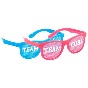 Girl or Boy? Glasses - Pink/Blue (10 in a package)