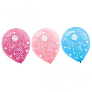 Hello Kitty Balloon Dreams Printed Latex Balloons (12 in a package)