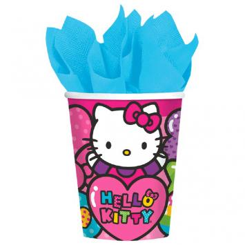 Hello Kitty Rainbow 9 oz. Cups (16 in a package)