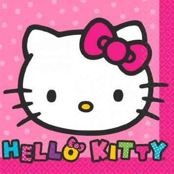 Hello Kitty Rainbow Beverage Napkins (32 in a package)