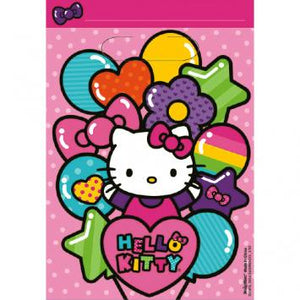 Hello Kitty Rainbow Folded Loot Bag (16 in a package)