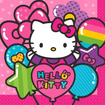 Hello Kitty Rainbow Luncheon Napkins (32 in a package)