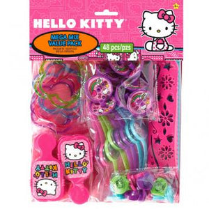 Hello Kitty Rainbow Mega Mix Value Pack Favors (48 in a package)