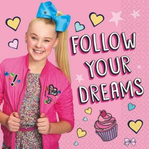 JoJo Siwa Luncheon Napkins (32 in a package)