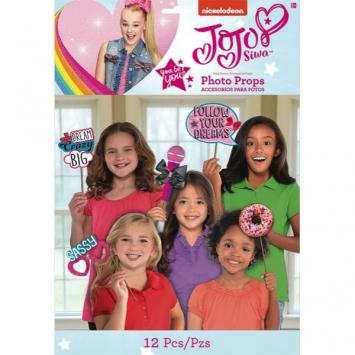 JoJo Siwa Photo Prop Kit (12 in a package)