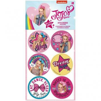 JoJo Siwa Stickers (24 in a package)