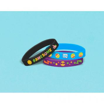 LOL Rubber Bracelet Favors (6 in a package)
