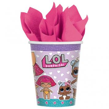 LOL Surprise Cups, 9 oz (16 in a package)