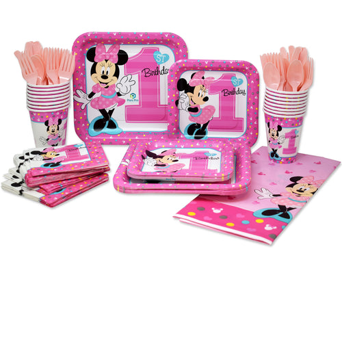 Minnie Mouse 1st Birthday Set